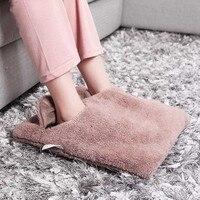 יד רגל מתחמם חימום נעלי בית כרית כיסא ספת כריות חימום חשמלי כרית חמה נעליים חמות חורף חם שמיכה חשמלית