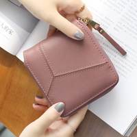 Long Zipper Women Purse Geometric Wristband Women Wallet Female Large Capacity Coin Wallet Purse Brand New