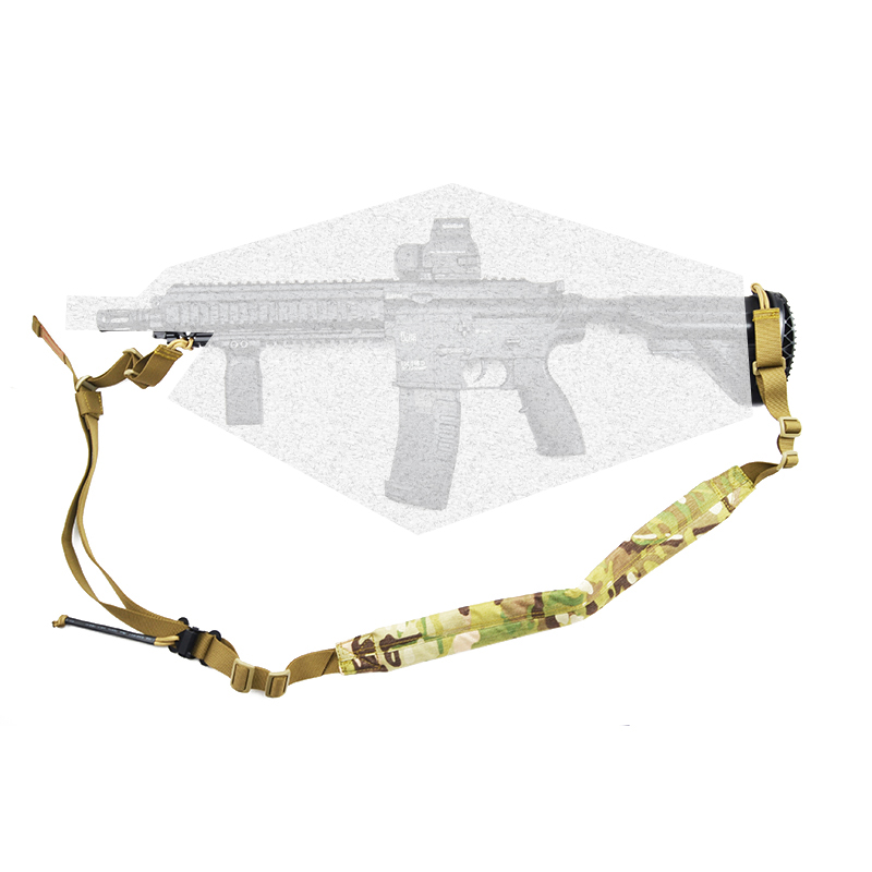 Two 2 Point VK Padded Weapon Sling VT AC VT-AC Quick Adjust Airsoft Paintball Rifle Gun Strap Hunting  TW-SL001