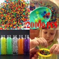 20000PCS 200Bag Pearl Soil Water Beads Gel Ball For Flower Mud Grow Magic Jelly Balls Decoration