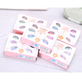 5pcs/lot 6 colors Primer Makeup Shimmer Eye Shadow palette powder lip gloss Blusher collection Cute Mini Kids eyeshadow Cosmetic