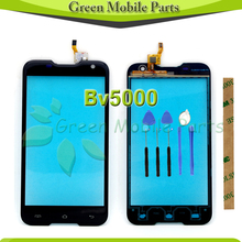 100% Tested One By One Touch Screen For BlackView Bv5000 5.0″inch Touch Panel With Free Tools Blue Protective Film