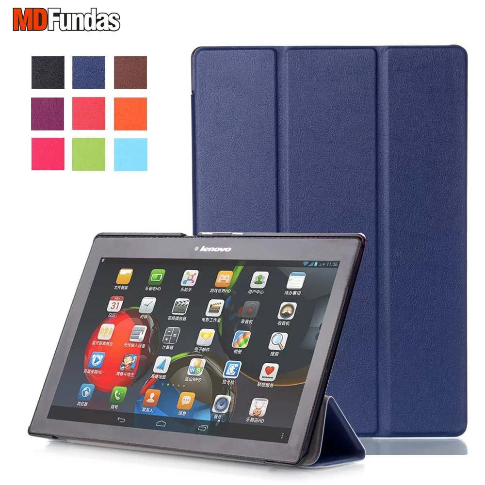 MDFUNDAS Coque For Lenovo Tab 3 10 Plus/Business TAB3-X70F/N For Lenovo TAB 2 A10/TAB2 A10-70/TAB2 X30F Case Flip Magnetic Cover