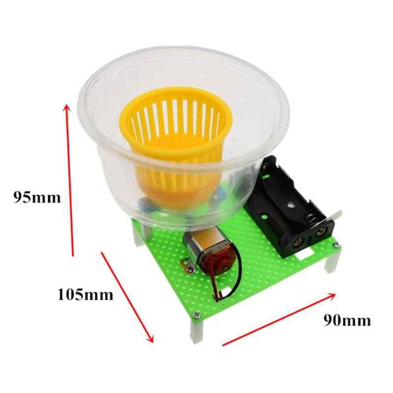 1 Set Handgemaakte Gemonteerd Droogmachine Model Elektrische Droger DIY Speelgoed Wetenschap Experiment Kids Onderwijs Tool