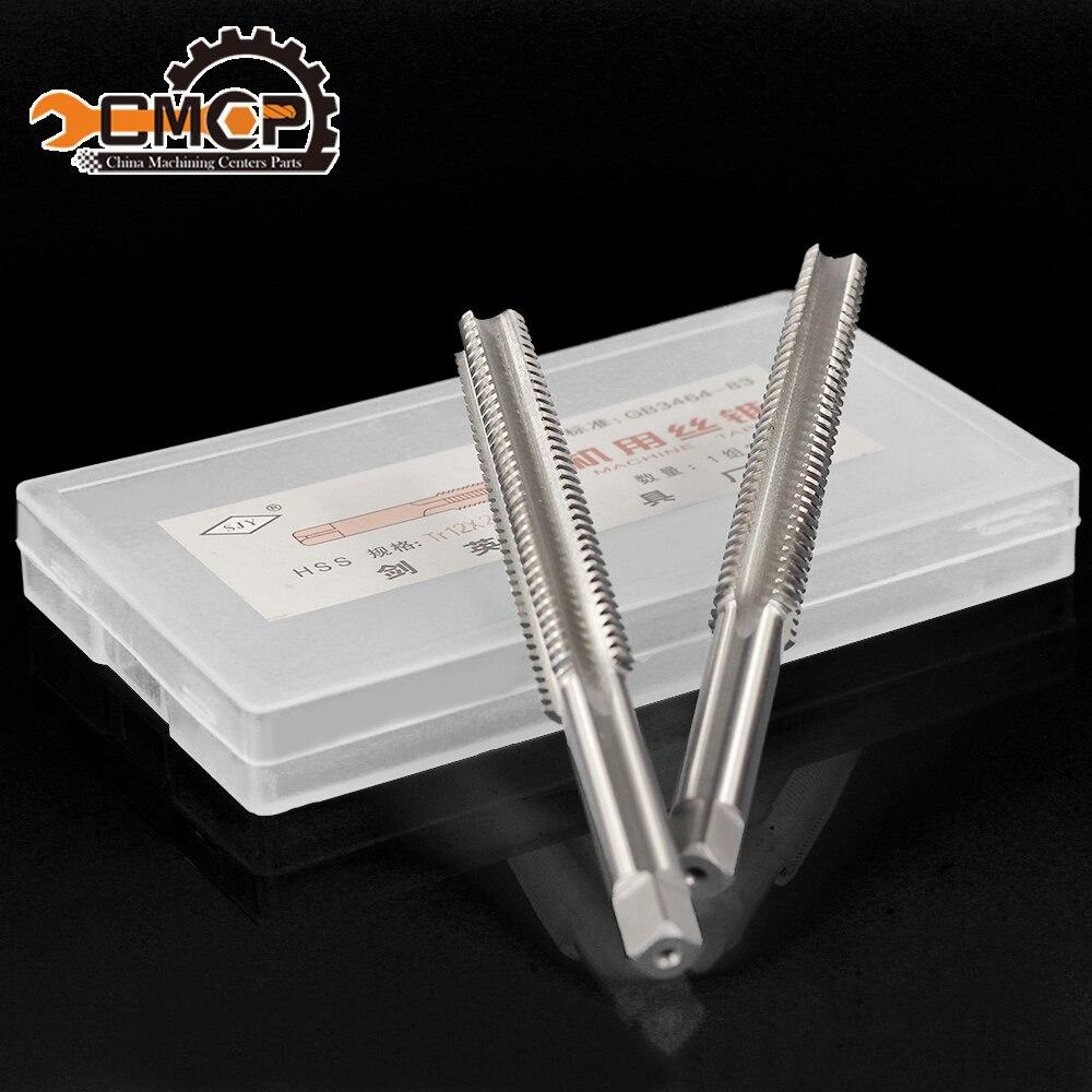 Alta calidad Trapezoidal rosca métrica Tap TR 12x2 Tap herramientas de mano izquierda tap
