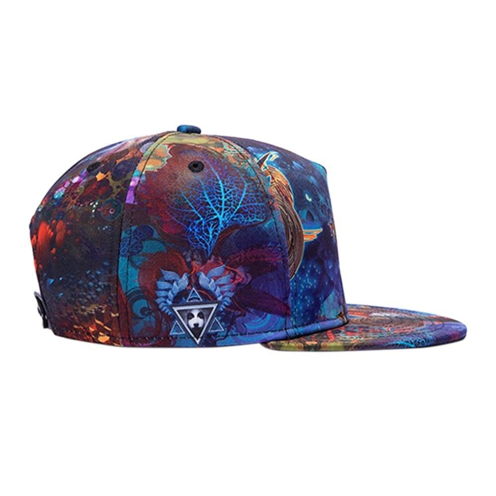 Snapback Gorras Hat Bon Flat Brimmed Baseball Cap Fashion 3D Print  Adjustable Hater Raiders Hip hop Trucker Bone Caps Hot Sale-in Baseball Caps  from Apparel ... 0880d9fc7f5