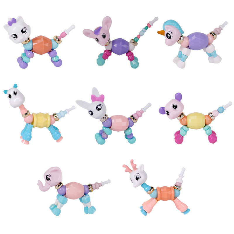 Bracelet Toys Twisty Animal Party Magical Girls Kids Children Fashionable Diy For Gift