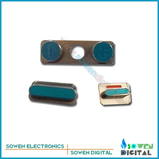 Side key power switch mute Volume button set for iphone 4 4s ,3 set/lot, ,100% gurantee good quality best price