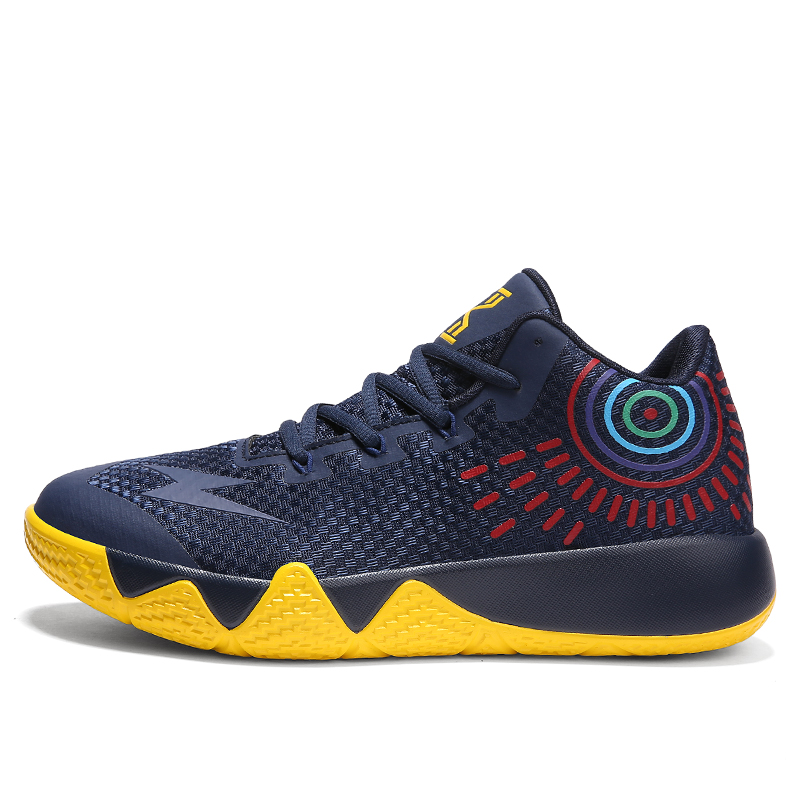 7e34e740f7454 Kyrie 4 Athletic Mens 2018 Air Basketball Shoes Jordan Big Sizes Trainer  Breathable Outdoor Sport Shoes