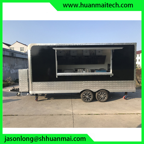 Food Truck Concession Trailer Mobile Kitchen Catering Trailer Lahore