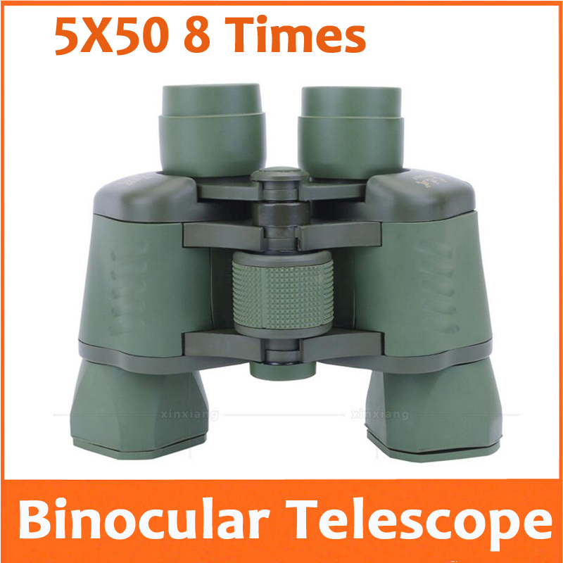 8X 50mm Binocular Telescope 8 Times Birthday Gift for Husband Outdoor tourism bird watching Travel Concert Camping Telescope