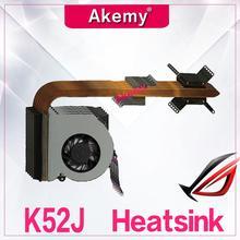 Akemy оригинальный для ноутбуков Asus радиатора Вентилятор охлаждения Процессор coolerK52 K52F A52F X52F P52F k52J P52J A52J X52J K52D X52D Процессор радиатора