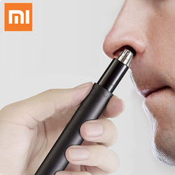 Xiaomi Youpin HN1 Mini Nose Hair Trimmer Potable Ear Nose Hair Shaver Clipper Electric Shaver Waterproof Safe Cleaner For Men