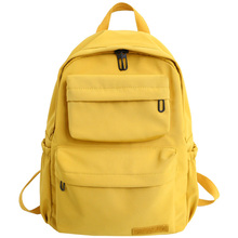 New Harajuku Backpack Wild Canvas Large Capacity Waterproof Nylon Backpacks Travel Bag Girl School For