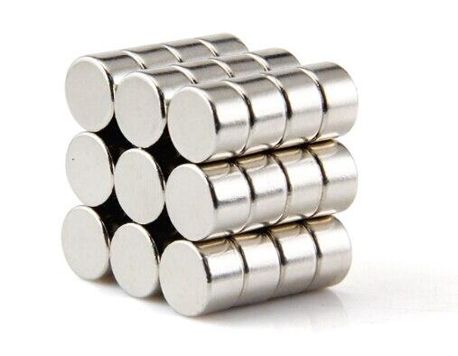 100-600 pièces N42 Disque Dia. 8x5mm 0.315