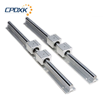 2pcs SBR guide 16mm linear rail length 1000mm support round guide rail + 4pcs SBR16UU slide block for cnc hgr30 hiwin linear rail 2pcs 100% original hiwin rail hgr30 1000mm rail 4pcs hgw30ca blocks for cnc router