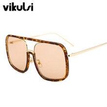 2018 Luxury Women Sunglasses Fashion Square Vintage Retro Br