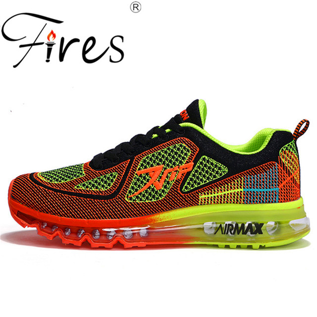 Fires big size trend Light Shoes Mens Running Shoes led Sport Shoes Trendly sneakers good Quality athletics sports run shoes