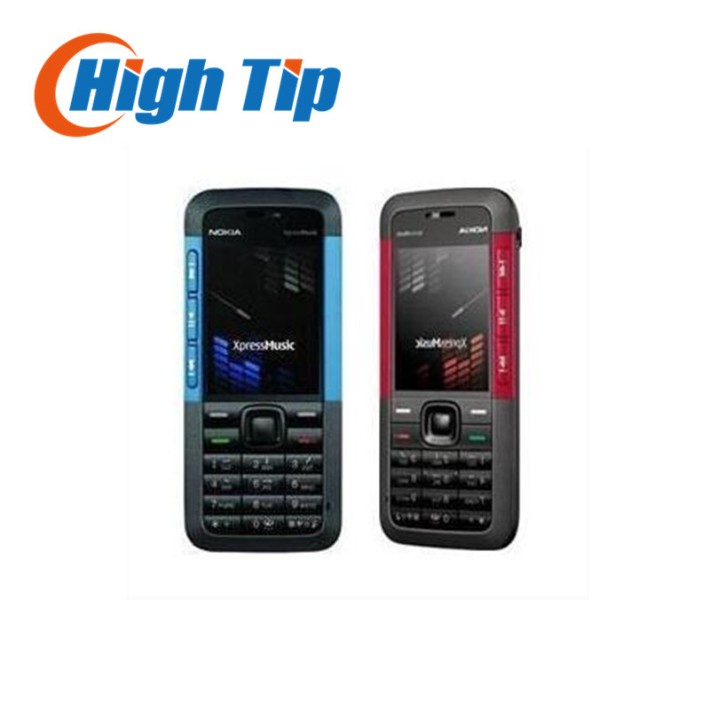 Original unlocked Nokia brand 5310 Mobile Phone 5310 XpressMusic Cellphone With Bluetooth 2MP Camera Free Shipping