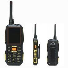 Walkie Talkie energienbank wireless FM handy Robuste stoßfest china günstige Handys russische tastatur taste H-mobile