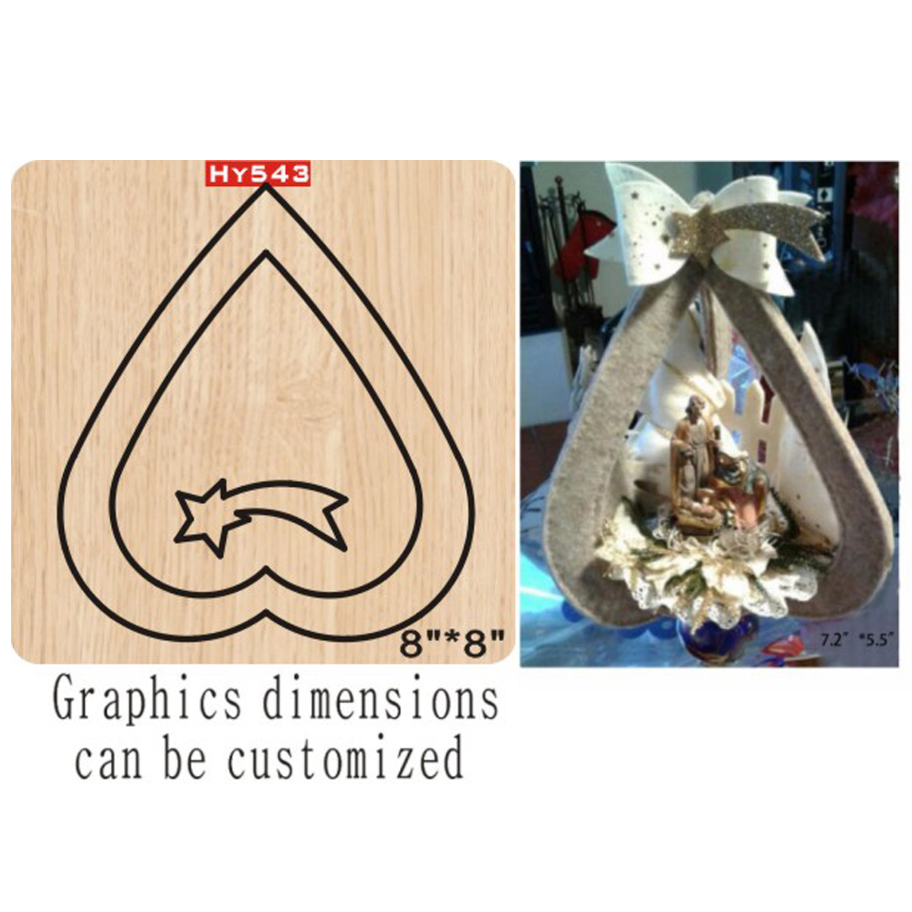 Heart-shaped Cutting Dies 2019 Die Cut &wooden Dies Suitable  For Common Die Cutting  Machines On The Market