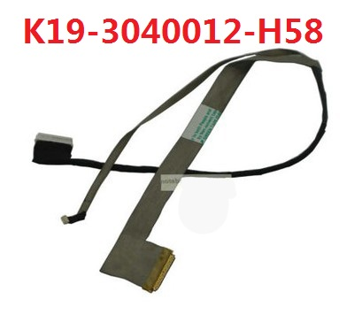 Laptop LCD Cable For MSI EX600 RX600 K19-3040012-H58 New Original original a1706 a1708 lcd back cover for macbook pro13 2016 a1706 a1708 laptop replacement