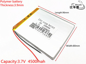 polymer lithium battery 7 8 9 inch tablet PC  3.7V 4500mah lithiumion 'With High Quality