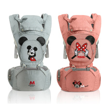 купить New Arrival Disney Baby Carrier Ergonomic Toddler Backpack Hipseat For Newborn Baby Kangaroos Breathable Front Facing Carrier по цене 1553.6 рублей