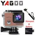 24FPS Ntk96660 YAGOO8 16MP câmera de ação 4 k Wi-fi ir pro capacete dos esportes da câmera debaixo d' água mergulho extrema evidência d Um Gua