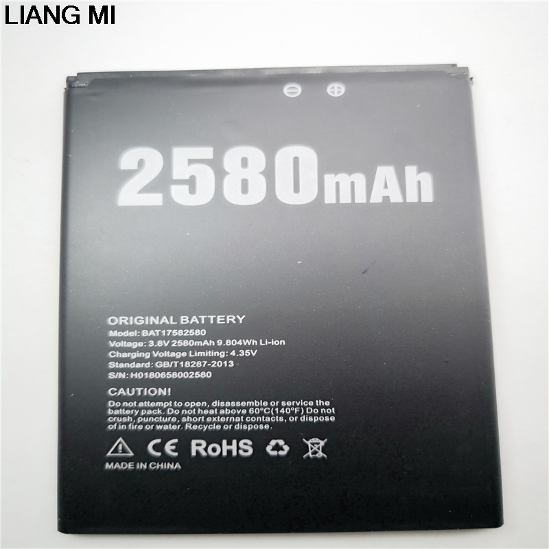BAT17582580 2580 mah handy batterie für DOOGEE X20 Original batterie telefon batterie mit telefon stander für geschenk