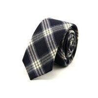 2017 Men Classic Casual Plaid Necktie Gravatas Corbatas 6CM Narrow Tie Cravat For Formal Wear Business