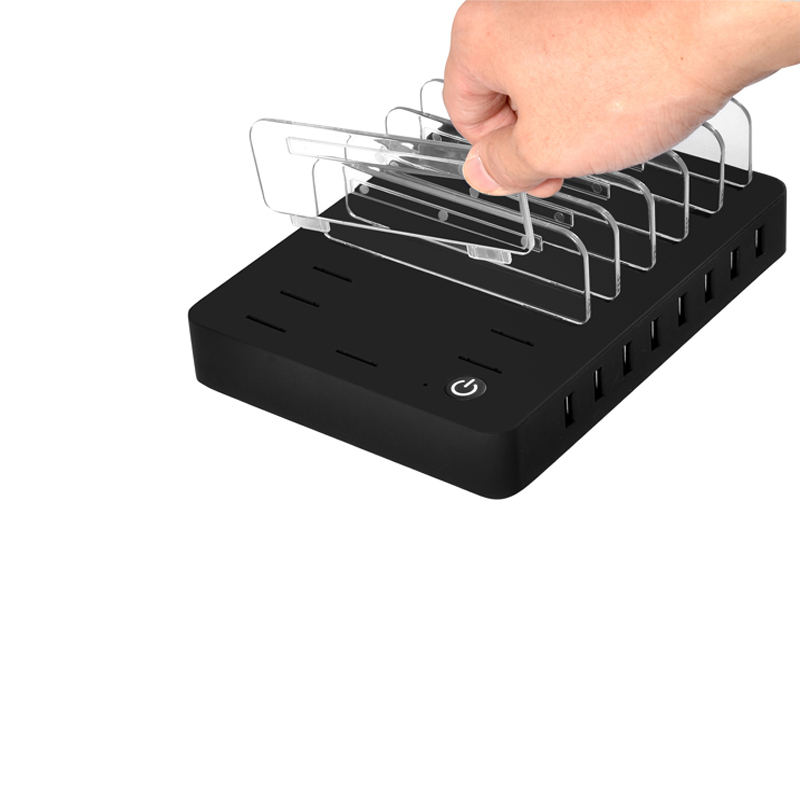 INGMAYA Multi Port USB-laddare 96W telefonhållare laddningsstation - Reservdelar och tillbehör för mobiltelefoner - Foto 4