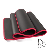 YHSBUY 2019 NBR Yoga Mats 183cm*61cm*10mm Non slip Esterirlla Yoga Workout Mat With Rope for Sports,HB017