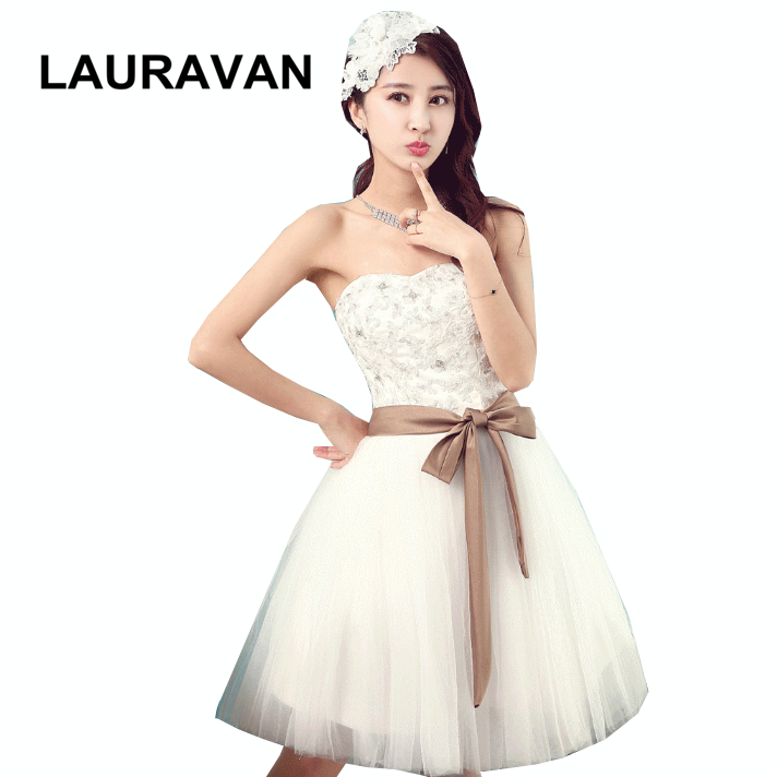 Belle chérie couleur ivoire demoiselle d'honneur filles mariée demoiselle torsion et wrap robe robes de soirée porter mariage invité livraison gratuite