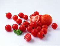 'Tongzi' Red Round Cherry Tomato Hybrid Seeds, 100 Seeds / Pack, Mini Sweet Fruit New Variety