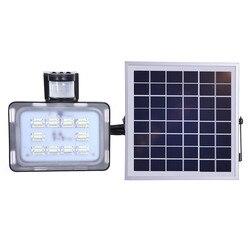 4 sztuk 10/20/30/50W 12V LED światło halogenowe PIR czujnik ruchu słonecznego indukcja sens lampa słoneczna IP65 SMD2835 reflektor LED reflektor