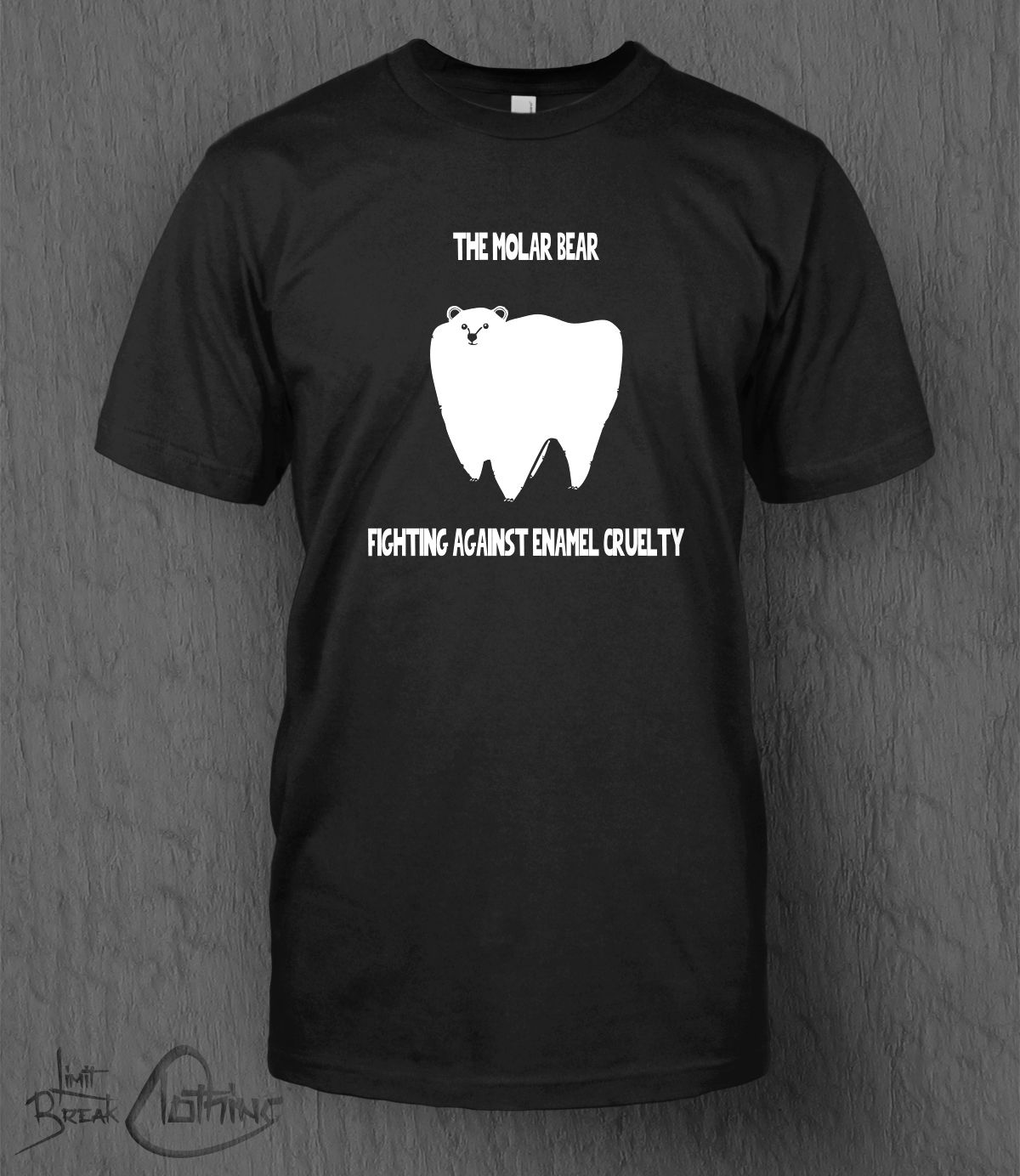 The Molar Bear T Shirt Funny Novelty MEN 39 S Polar Bear Animals Father 39 s Day Harajuku Tops Fashion Classic Unique free shipping in T Shirts from Men 39 s Clothing