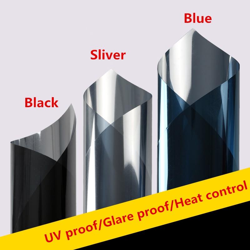 Película de ventana Solar de fijación elegante, película de privacidad unidireccional, lámina decorativa de control de calor Anti UV, adhesivo estático para la construcción de la Oficina del hogar DIY