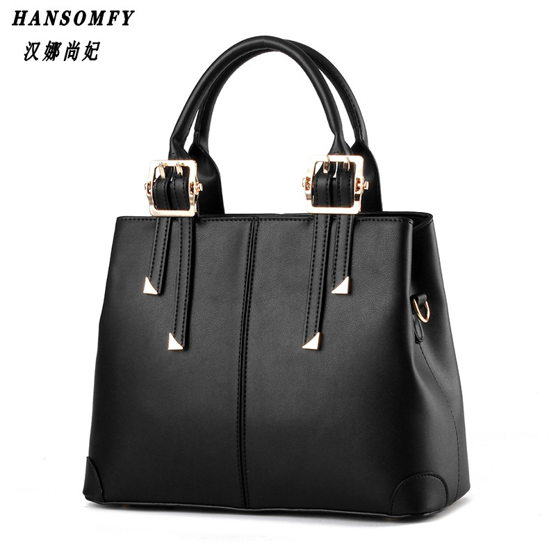 Han 100% Genuine leather Women handbag 2017 New Temperament type fashion Crossbody Shoulder Handbag women messenger bags  100% genuine leather women handbag 2017 new commuter type fashion handbag crossbody shoulder handbag women messenger bags