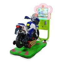 Новый 3D небольшой видео Jockey Club скачки монетные воблер детская игровая площадка качели площадка оборудование YLW K1817