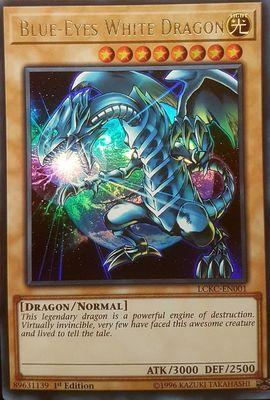 DPBC-EN016 Blue-Eyes White Dragon Ultra Rare 1st Edition Mint YuGiOh Card