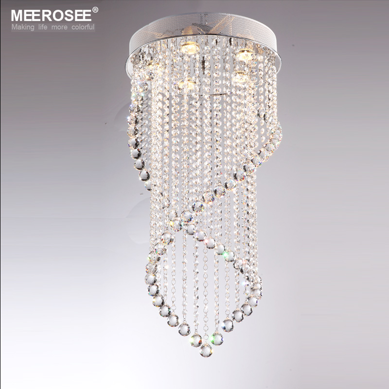 Modern Crystal Ceiling Lights Res Ing Flush Mount Lighting Lamps Md6874 5c In From On