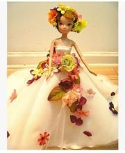Автономный дизайн ручной работы Подарки Для Девочек Кукла Аксессуары Вечерние Костюм Свадебное Платье Одежда Для Барби 1:6 Кукольный BBI0094