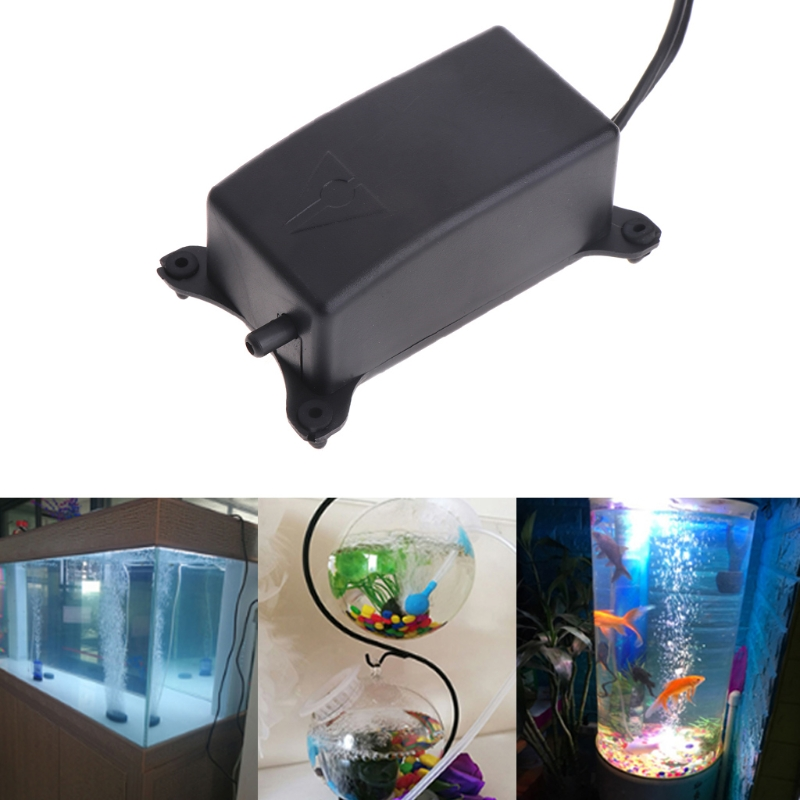 New Fish Tank Oxygen Air Pump Mini Domestic Aquarium Ultra Eu Plug Quakeproof Silent