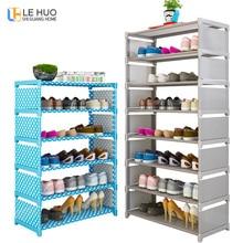 цена Simple Multi Layer Shoe rack Nonwovens Easy Assemble Storage Shelf Shoe cabinet fashion bookshelf Living Room Furniture онлайн в 2017 году