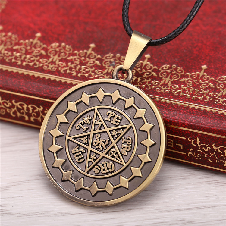 Anime Black Butler Necklace Ciel Demon Eye Pendant Cosplay Accessories Jewelry
