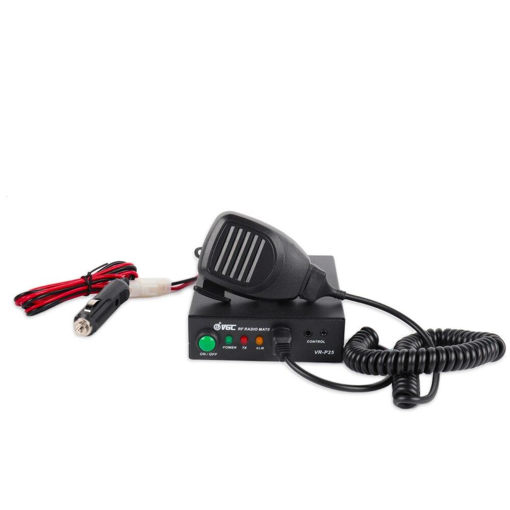 Radioddity x VGC VR-P25UD Amplificateur pour UHF 400-470 Mhz 20-40 W Sortie 2-6 W entrée Analogique DMR Modes Talkie Walkie Remorquage way Radios