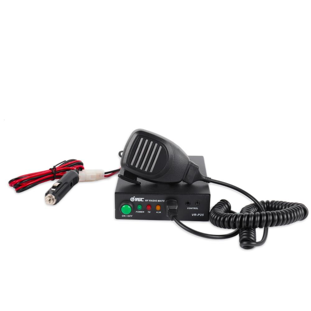 Radioddity x VGC VR P25UD Amplifier for UHF 400 470Mhz 20 40W Output 2 6W Input