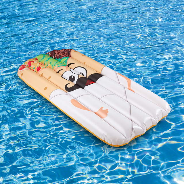 Inflatable Burrito Pool Float Swimming Pool Party for Adult and Kids ...