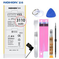 Original NOHON 3110mAh High Capacity Battery For IPhone 6 Plus 6Plus Mobile Phone Batteries Replace Accumulator